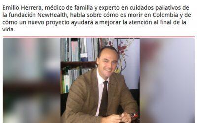 Entrevista al Presidente de New Health Foundation. Revista Semana Colombia.