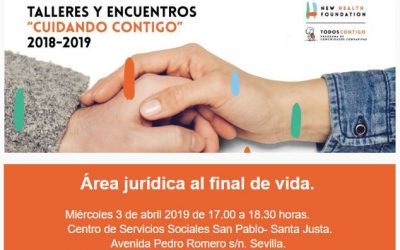 Taller Cuidando Contigo: Área jurídica al final de vida en Sevilla Contigo.