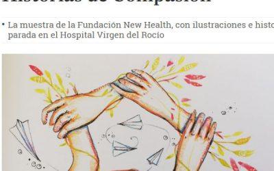 El final de la vida contado en la exposición '20 Historias de Compasión' (Diario de Sevilla 25/03/19)
