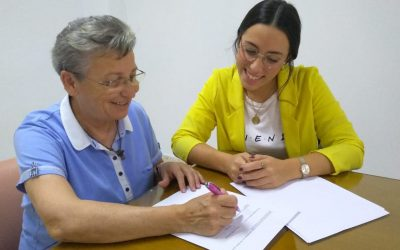 Fundación New Health y Asociación Familia Vicenciana firman un acuerdo de colaboración para personas sin hogar (La Vanguardia 21/10/19)