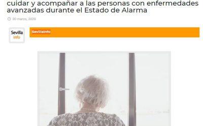 Fundación New Health refuerza su actividad durante el Estado de Alarma (Sevilla Info 30/03/2020)