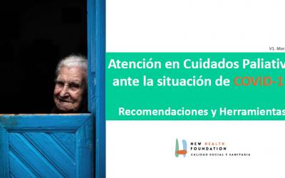 Recomendaciones COVID-19. Fundación New Health.
