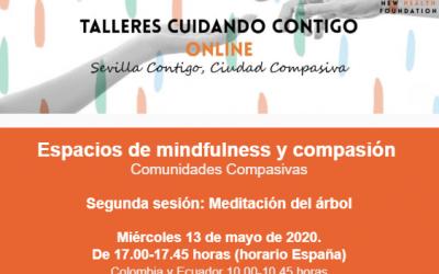 """Sesión online: """"Meditación del árbol"""" (Espacios Mindfulness y compasión)"""