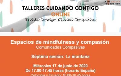 """SESIÓN ONLINE: """"LA MONTAÑA"""" (ESPACIOS MINDFULNESS Y COMPASIÓN)"""