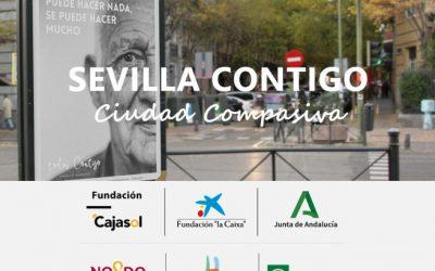 """Fundación La Caixa y Fundación Cajasol apoyan un año más al proyecto """"Sevilla Contigo, Ciudad Compasiva""""."""